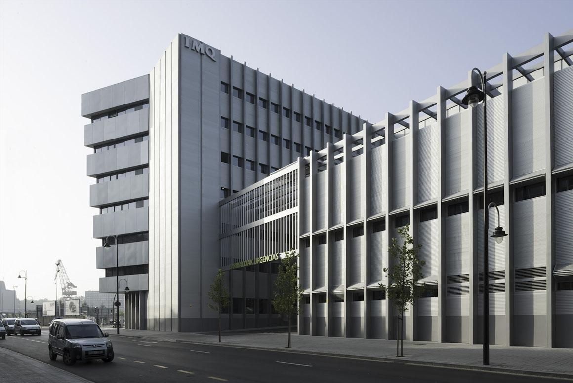 Sanjose constructora imq zorrotzaurre private hospital for Imq oficinas centrales bilbao bilbao