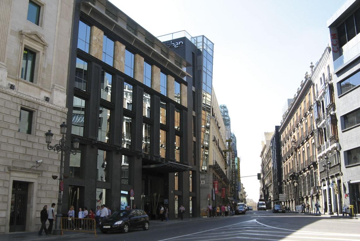 Sanjose constructora hotel urban 5 estrellas gran lujo for Design hotel urban madrid