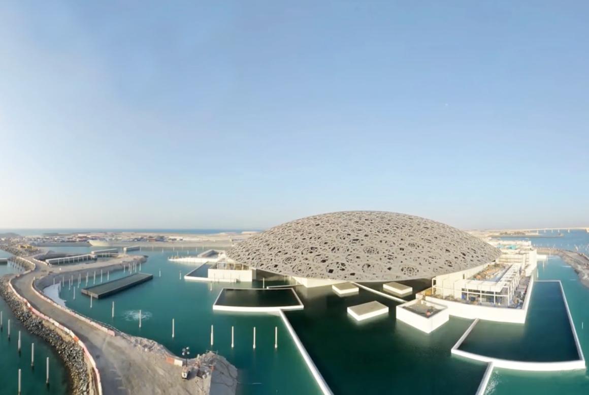Resultado de imagen para museo Louvre Abu Dhabi