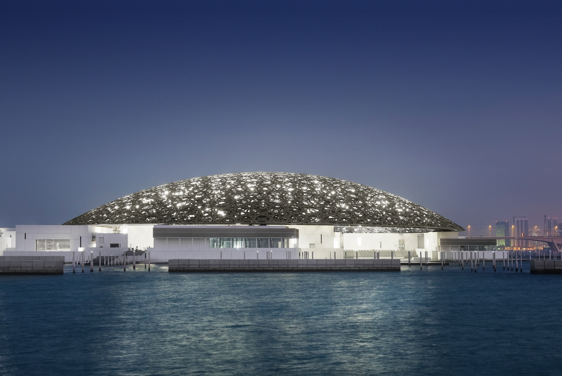 MUSÉE LOUVRE ABU DHABI, DISTRICT CULTUREL DE SAADIYAT
