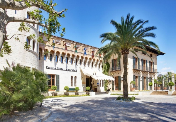 SANJOSE ampliará el Castillo Hotel Son Vida Luxury Collection 5 estrellas en Palma de Mallorca