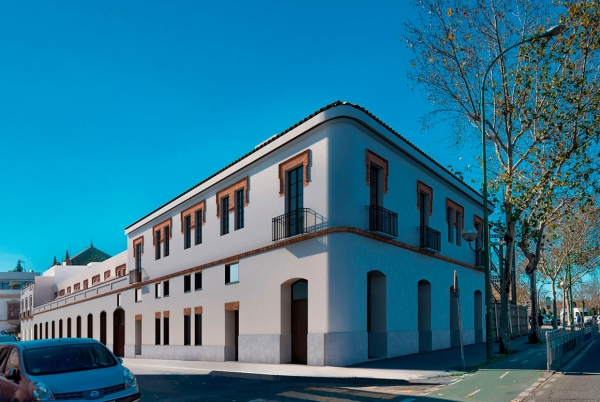 SANJOSE will build the Residential development Puerta Barqueta in Seville