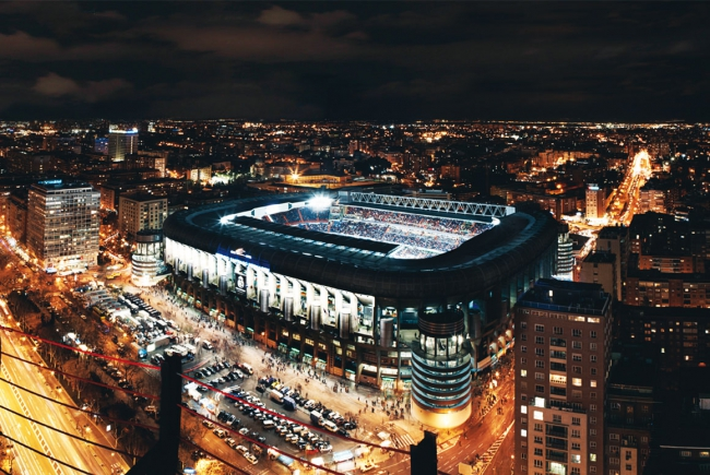 SANTIAGO BERNABEU STADIUM, REAL MADRID