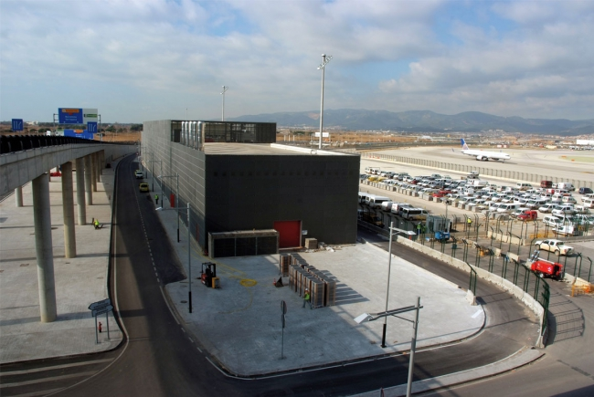 ENERGY POWER STATION OF THE AIRPORT OF BARCELONA