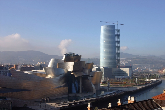 Grupo sanjose torre iberdrola bilbao for Oficinas iberdrola madrid