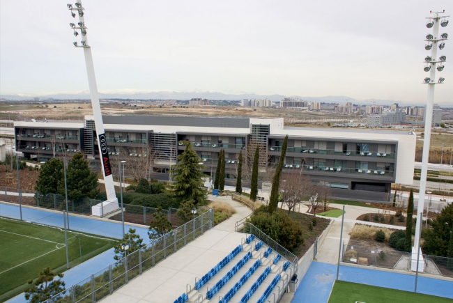 RESIDENCE OF REAL MADRID'S FARM TEAM IN THE SPORTS CITY OF VALDEBEBAS