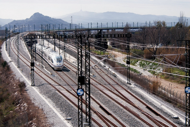 SPANISH HIGH SPEED RAILWAY LINE MADRID - ZARAGOZA - BARCELONA - FRENCH BORDER. STRETCH MONTCADA - MOLLET