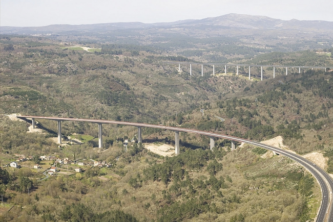 BARBANTIÑO RIVER VIADUCT, ORENSE
