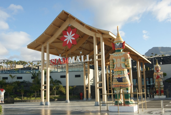 SIAM MALL SHOPPING CENTRE IN ADEJE, TENERIFE